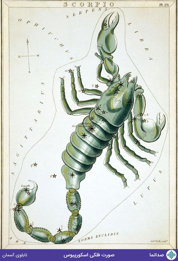 صورت فلکی اسکورپیوس