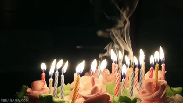 شمع تولد