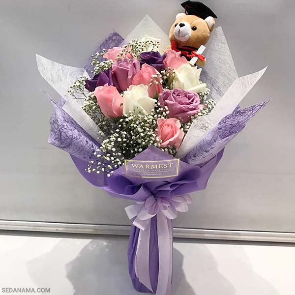 خرید گل برای هدیه فارغ التحصیلی