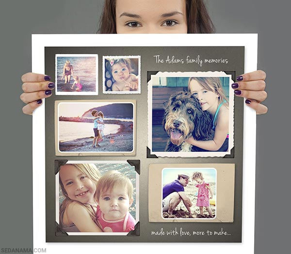 collage 2 - تابلو کلاژ