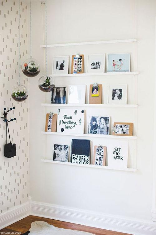 نمایش عکس روی دیوار
