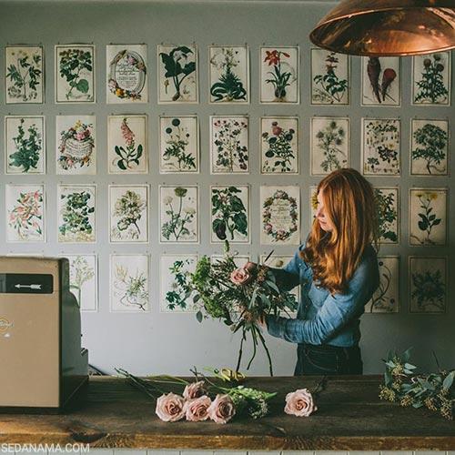 creative ways photo hanging on the wall 7 - 17 ایده و روش خلاقانه و مدرن برای نمایش عکس روی دیوار