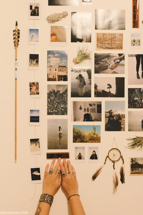 کلاژ عکس های یادگاری