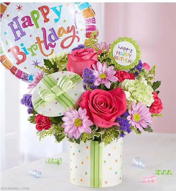 خرید گل برای هدیه تولد