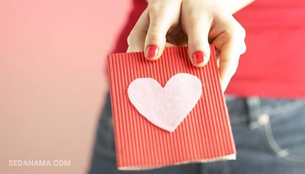کارت تبریک برای ولنتاین