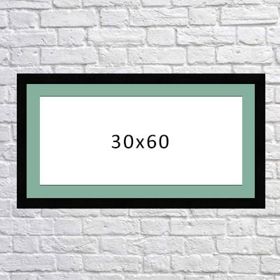 سفارش تابلوی فرکانس صدا در ابعاد 30x60