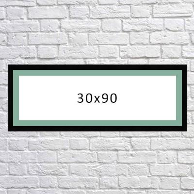 سفارش تابلوی فرکانس صدا در ابعاد 30x90