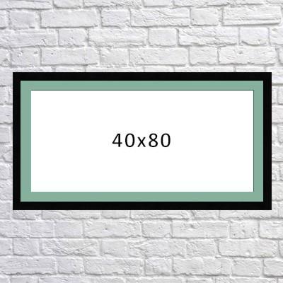 سفارش تابلوی فرکانس صدا در ابعاد 40x80