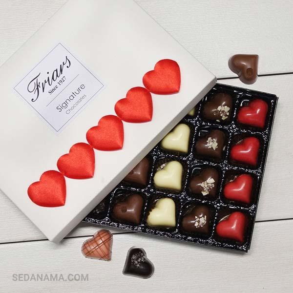 خرید شکلات برای ولنتاین