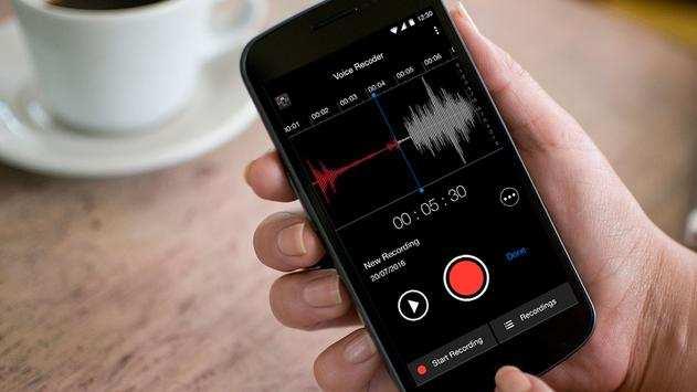 voice recorder - تابلوی صدا و فرکانس